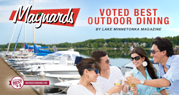 Maynards Voted 2014 Best Outdoor Dining!